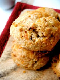 The Bojon Gourmet: Bacon Beer Scones with Smoked Cheddar and Caramelized Onions