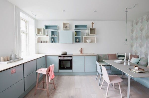 Kitchen Inspo | Pretty Pastels