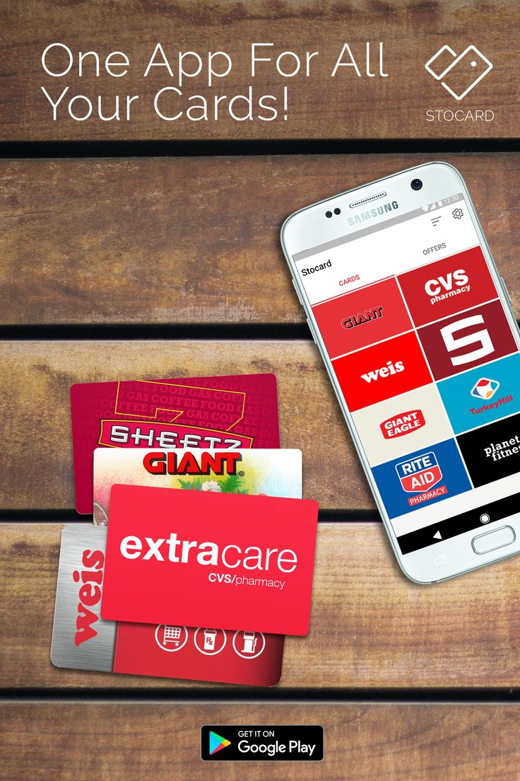 No more plastic cards! All your cards in one app.