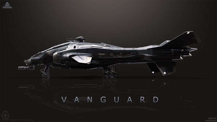 concept ships: Vanguard from Star Citizen