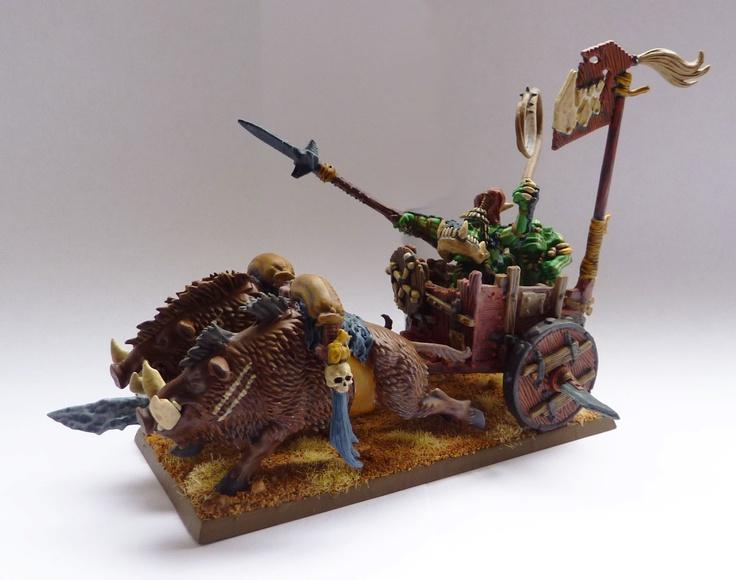 Savage Orc Boar Chariot conversion