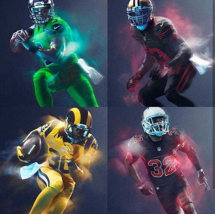 NFL: NFC West 2016 Color Rush Uniforms