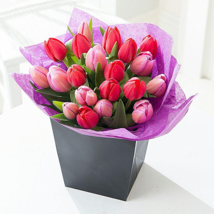 Valentine's Tulip Gift Bag