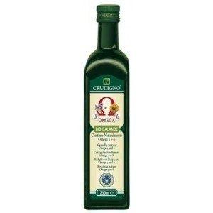 Ulei bio Balance Omega 3+6. Poate contine urme de nuci, alune, soia si susan. Bio balance Omega 3+ 6 - 70% ulei bio de floarea soarelui presat la rece si 30% ulei bio de in presat la rece.