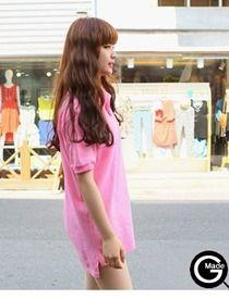 Today's Hot Pick :ピンクロングポロシャツ http://fashionstylep.com/SFSELFAA0013079/hkm0977jp/out GOGOSINGオリジナルポロシャツ!! ラブリーなピンクカラーが今の季節にぴったり★ シンプルでコーデしやすく着まわし力抜群です。 人気のオーバーサイズで華奢なシルエットを演出♪ 全体的に伸縮性があり着心地も抜群です◎