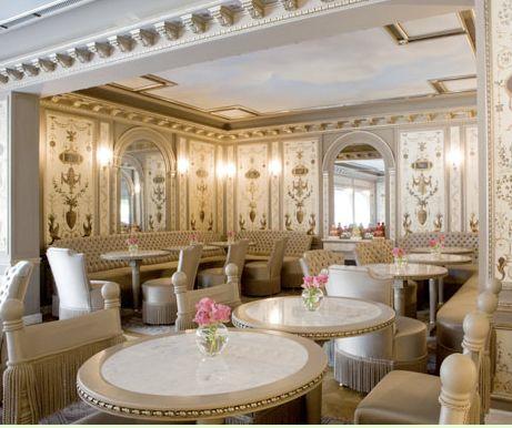 Laduree pesquisa google delicate rooms pinterest for Tea room interior design ideas
