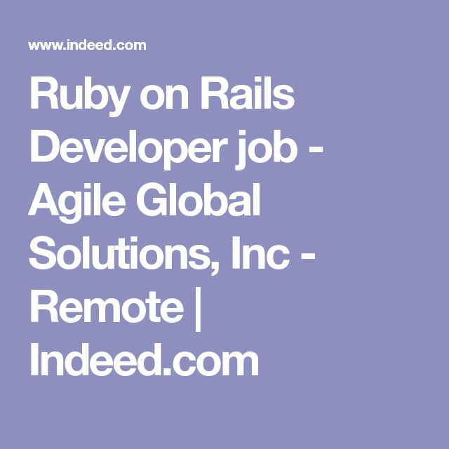 Best 25+ Ruby on rails developer ideas on Pinterest Ruby - ruby on rails developer resume