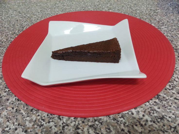 Fatia do bolo de Chocolate inspirado no Landeau
