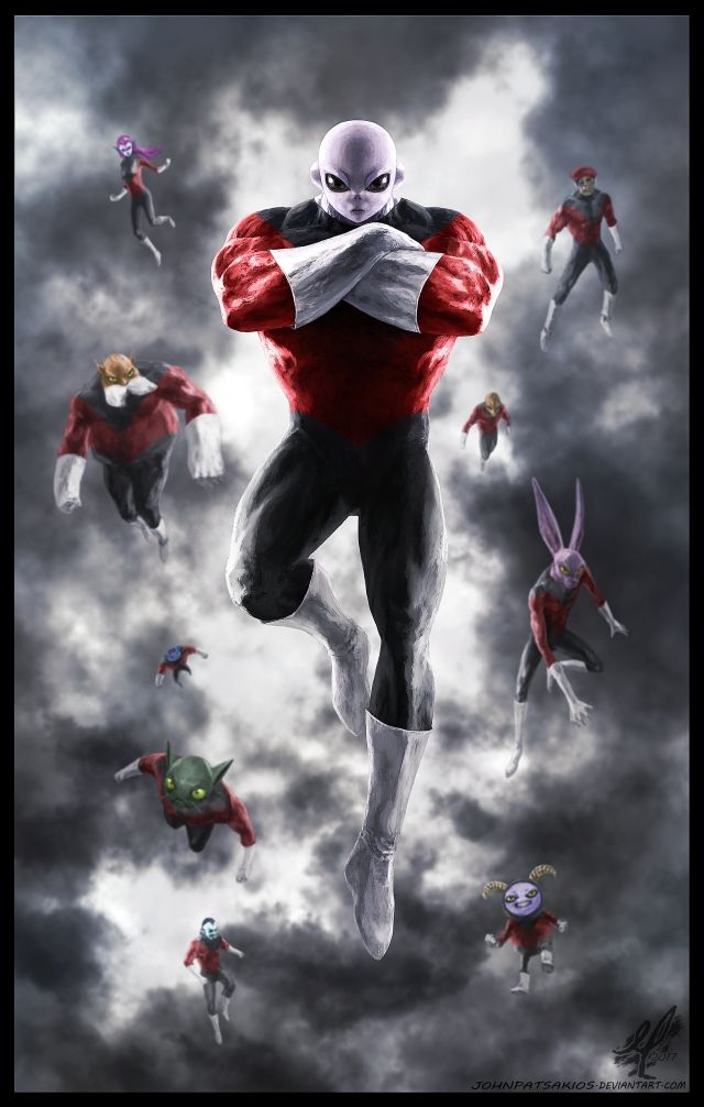 Dragon Ball Gt 3d Wallpaper Jiren And The Pride Troopers From Dragon Ball Super By