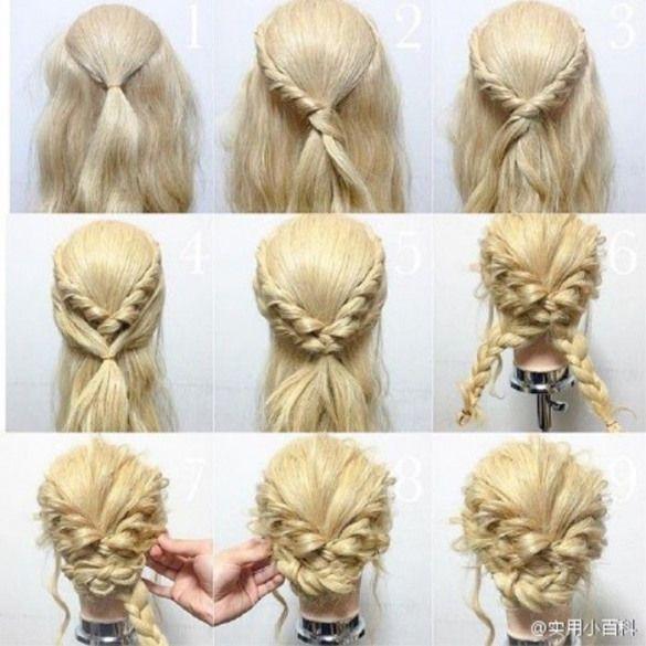 Hair Tutorial Promhairstyles Prom Hairstyles Princesses Prom Hair Updo Hair Styles Curly Hair Styles
