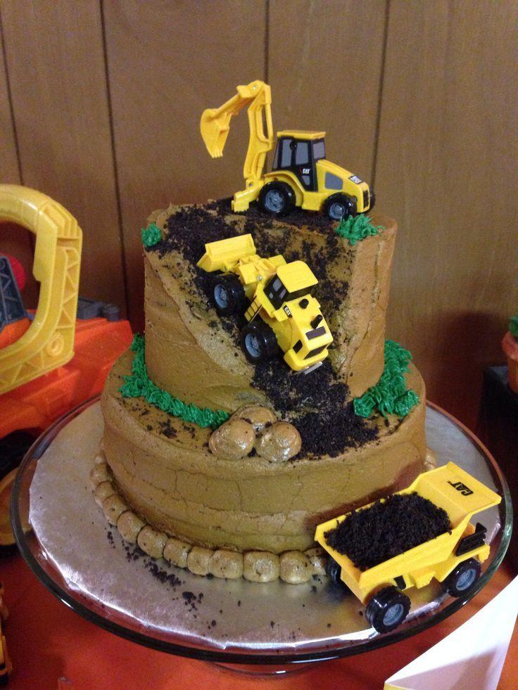 ... Birthday Cakes on Pinterest  Birthday cakes, Construction birthday