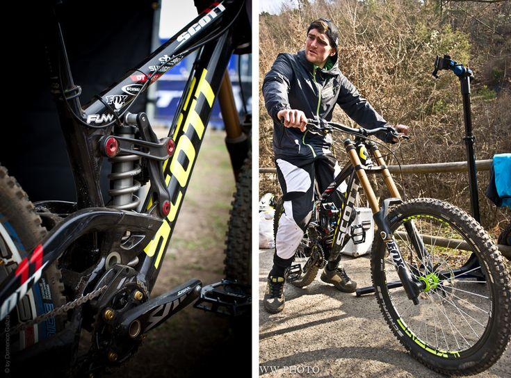 Scott Downhill Bike Prototype