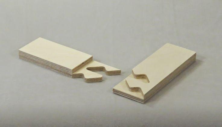 La fabricación digital para diseñadores: CNC de corte Carpintería de madera
