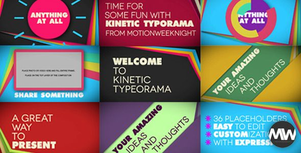 Kinetic Typeorama