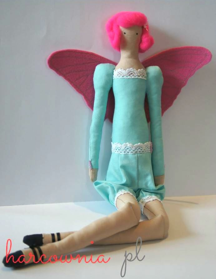 Tilda doll - Dafne - fairy Wing