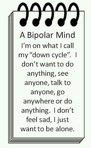A bipolar mind                                                                                                                                                                                 More