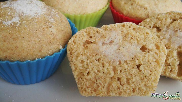Tejbegrízes muffin