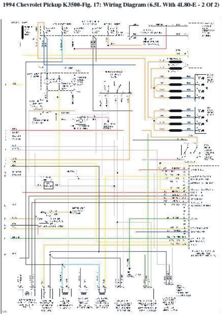 13 best manuals images on pinterest electrical wiring diagram rh pinterest com 1994 GMC Suburban Wiring Diagram 1994 2500 Chevrolet Wiring Diagram
