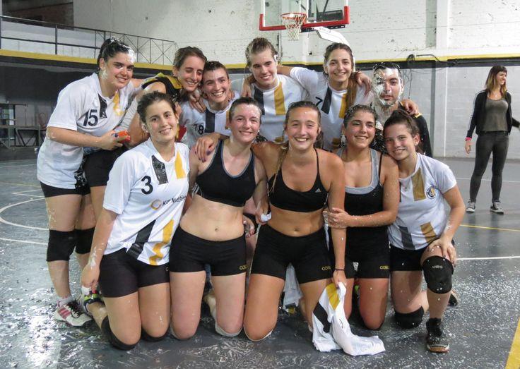 VOLEY FEMENINO//  FELICITACIONES!!! a las chicas del Sub 21 que se han consagrado CAMPEONAS DE SU CATEGORÍA!!!