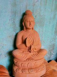 Terracotta Natural Buddha