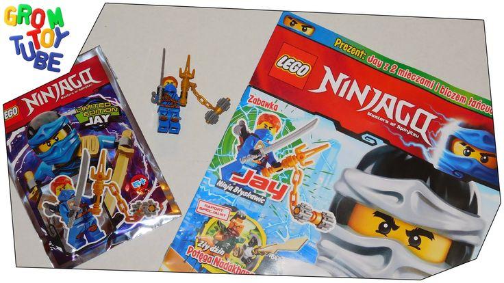 UNBOXING NEW LEGO NINJAGO MAGAZINE 7 2016