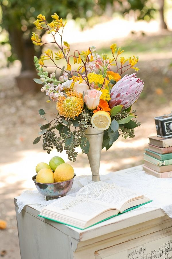 vintage citrus wedding  //  meghan wiesman photography