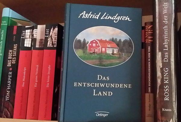 """Buchempfehlung - Rezension  Anne's Lesetagebuch  Astrid Lindgren: """"Das Entschwundene Land"""""""