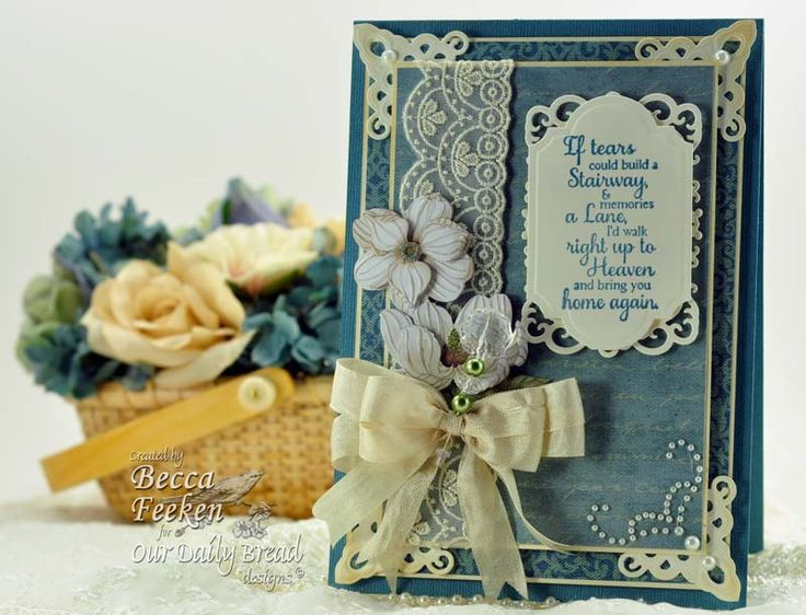 WRBF-3469-2012: Amazing Paper, Daily Breads, Paper Grace, Beautiful Cards, Becca Cards, Breads Stamps, Cards Sympathy, Cards 2, Spellbinders Cards