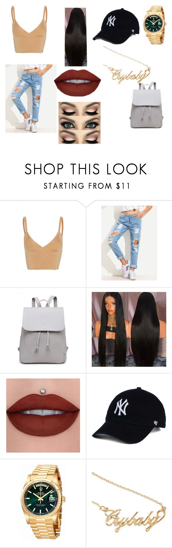 """Summer 17"" by bbygirl00 on Polyvore featuring Dion Lee, Rolex and Hot Topic"