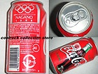 1998 Japan coca cola NAGANO winter olympic games can 350ml - A