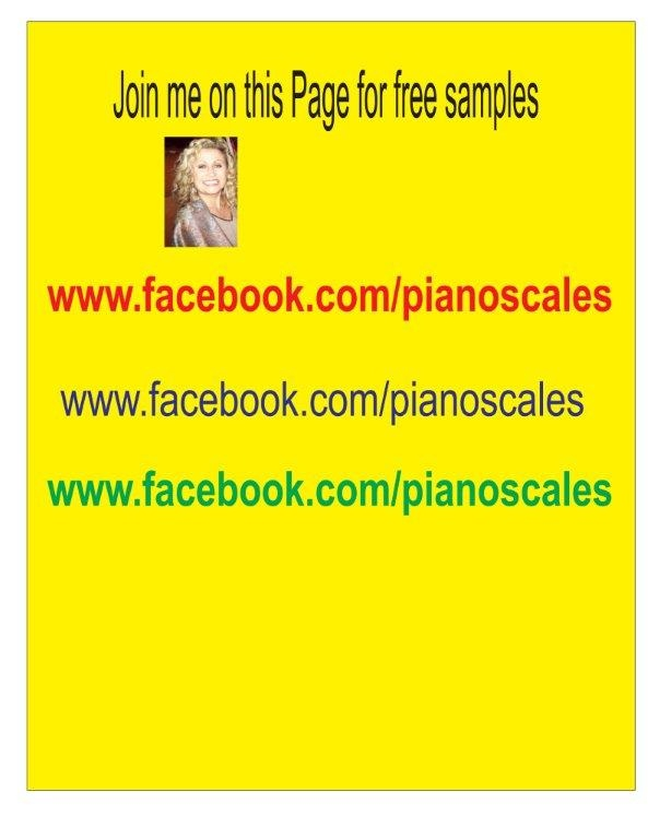 Let's connect www.facebook.com/pianoscales for free music theory samples