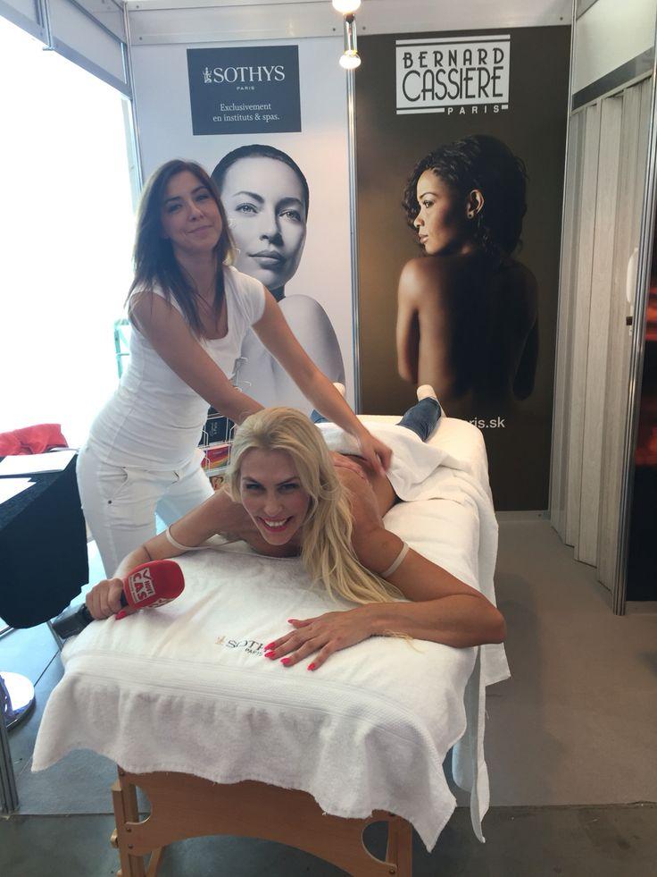 #monikahaklova #interbeaury #bcparis #massagecandle