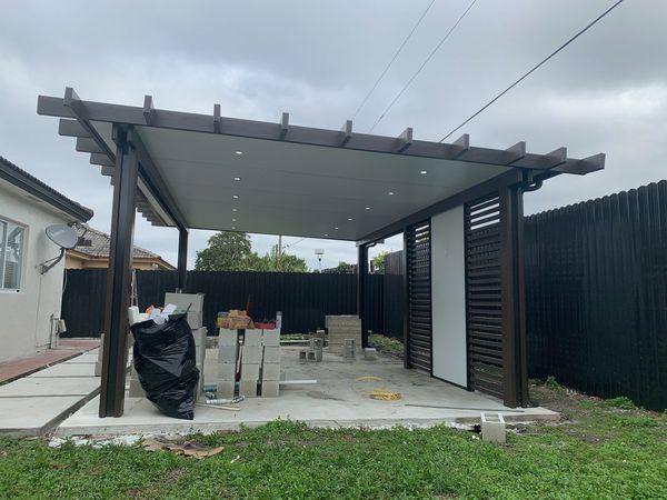 Insulated aluminium pergola for Sale in Hialeah, FL in 2019