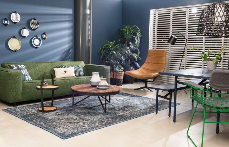 Industrial Blue Style Studio