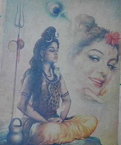 Lord Shiva at Chor Bazar