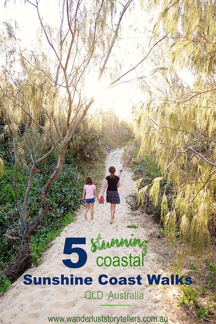 5 Stunning Coastal Sunshine Coast Walks to Explore - Queensland, Australia…