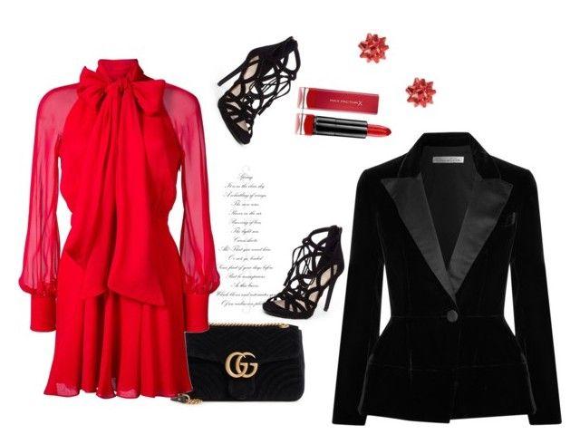 """""""Always Buy Retail"""" by dasha408465 on Polyvore featuring мода, Gucci, Haney, Jessica Simpson, Oscar de la Renta и Max Factor"""