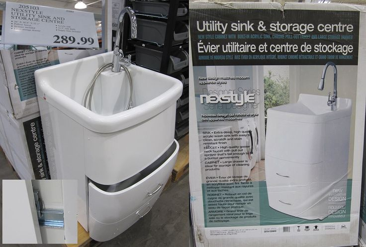 Presenza Deluxe Utility Sink And Storage Cabinet : Utility Sink and Cabinet - $290 - RedFlagDeals.com Forums Laundry ...