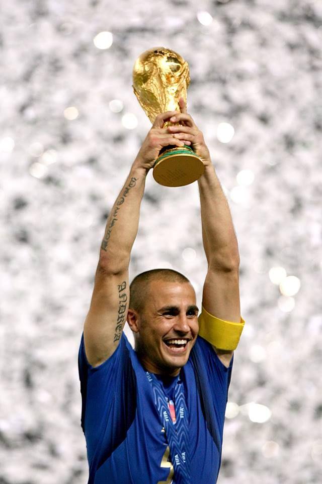 Ballon d'Or and World Cup winner Fabio Cannavaro
