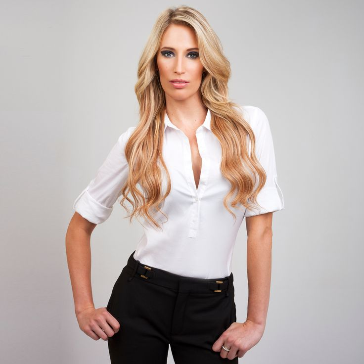 Copper Kiss FrontRow Clip-In Hair Extensions on model Kerry :) Avaliable for purchase at www.frontrow.co.za