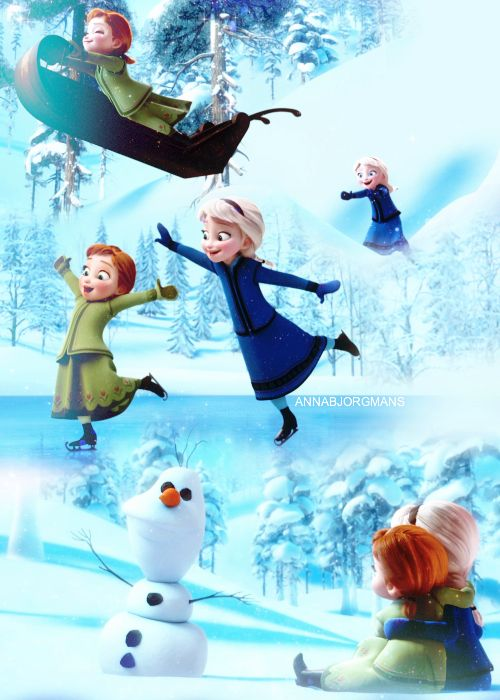 """""""Elsa and I were really close when we were little."""""""