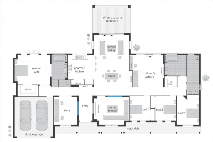 Bronte Executive floor plan