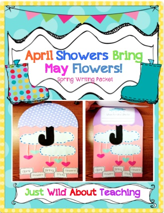 Just Wild About Teaching: A Spring Weather Writing Craftivity & A Giveaway!  Drop by to enter this Spring Giveaway with some sweet prizes!  justwildaboutteaching.blogspot.com