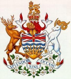 PD - British Columbia Coat of Arms