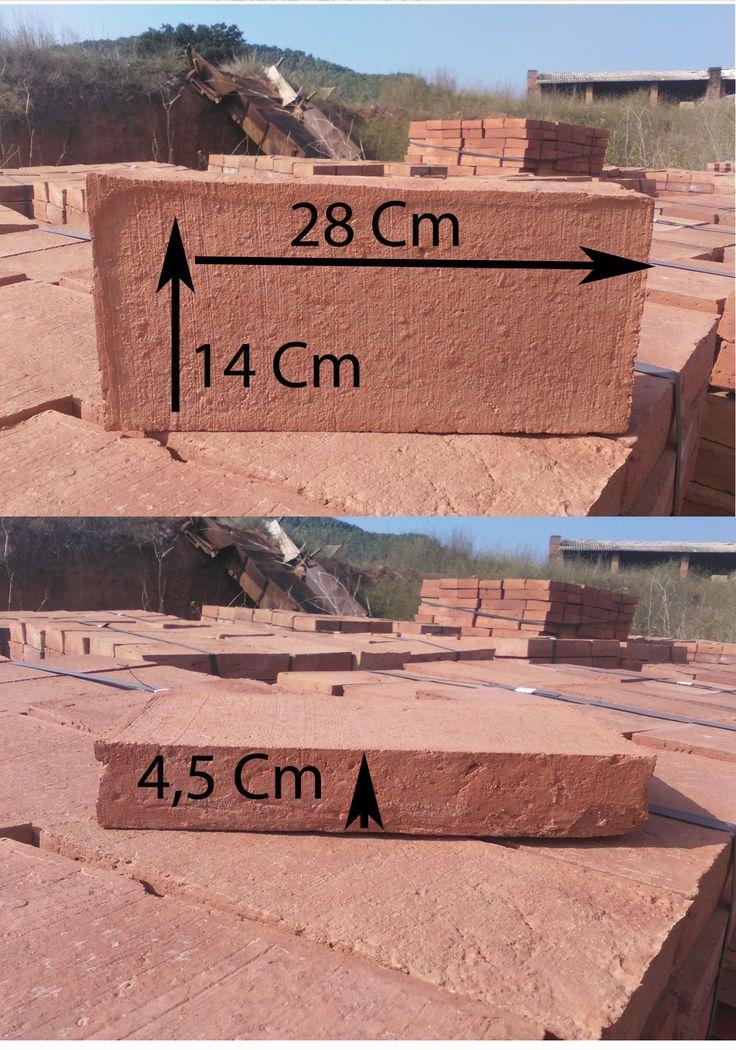 Mides dels totxos medidas de los ladrillos for Medidas ladrillo perforado