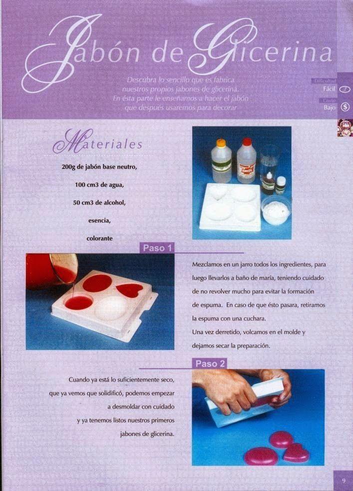 Cursos y tutoriales para manualidades: Como hacer jabones artesanales