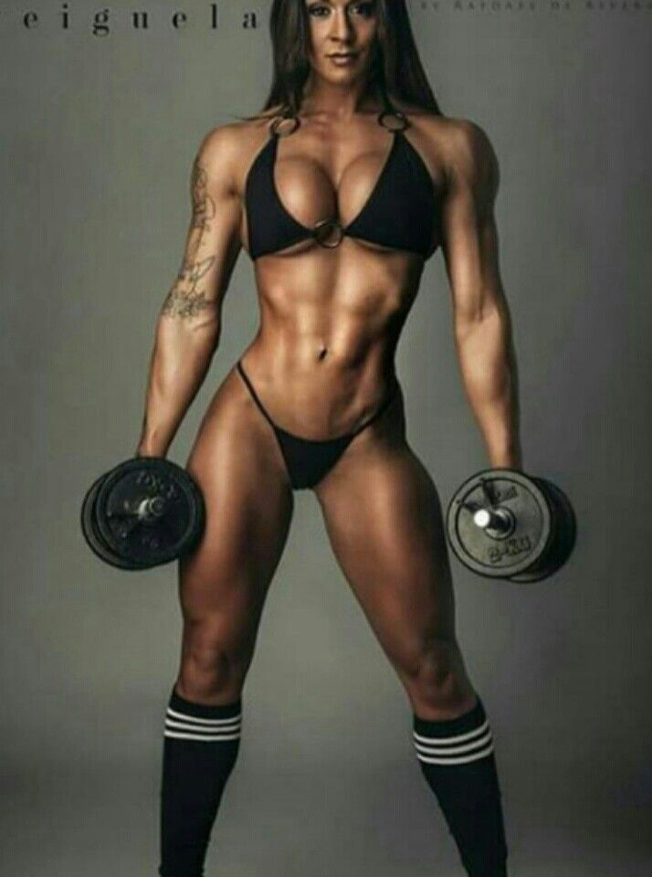 Muscular Girls Image By Yahaira B  Fitness Models Female -7072