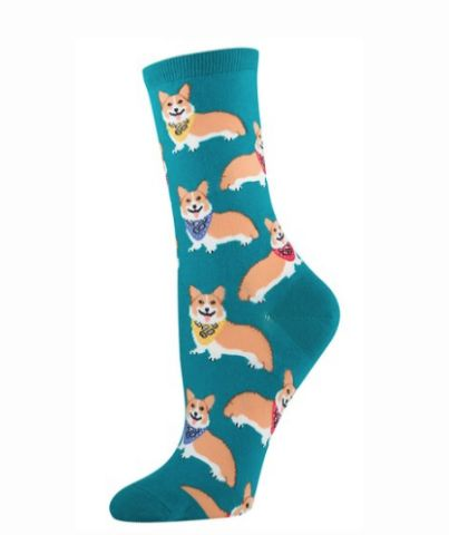 Love chihuahuas? So do we! Our fun chihuahua women's crew socks feature your favorite dog breed, wearing gorgeous bow ties for a sophisticated look. These nylon, lycra and cotton socks are available w