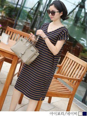 korean fashion online store [COCOBLACK] #koreafashionshop #Fashionwomen  #korea #dailylook #missy #dress #top #skirt #pants #clothsale #missiyfashion #workingmom #missylook #dailylook #homewear #like #want #dress #ワンピース #连衣裙#loosefit #feminine #officelook #bigsize #pattern #stripe Volume V ops / Size : FREE / Price : 33.51 USD