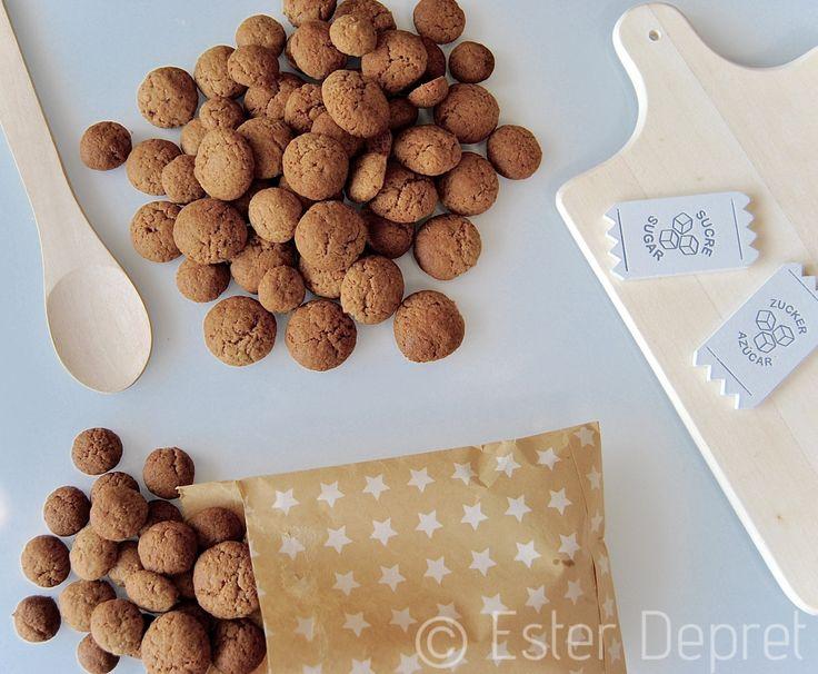 Koken met kinderen: receptje om Kruidnoten / Kruidennoten zelf te maken.